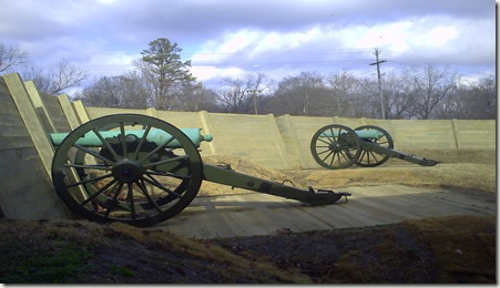 Part of the Robinette Battery
